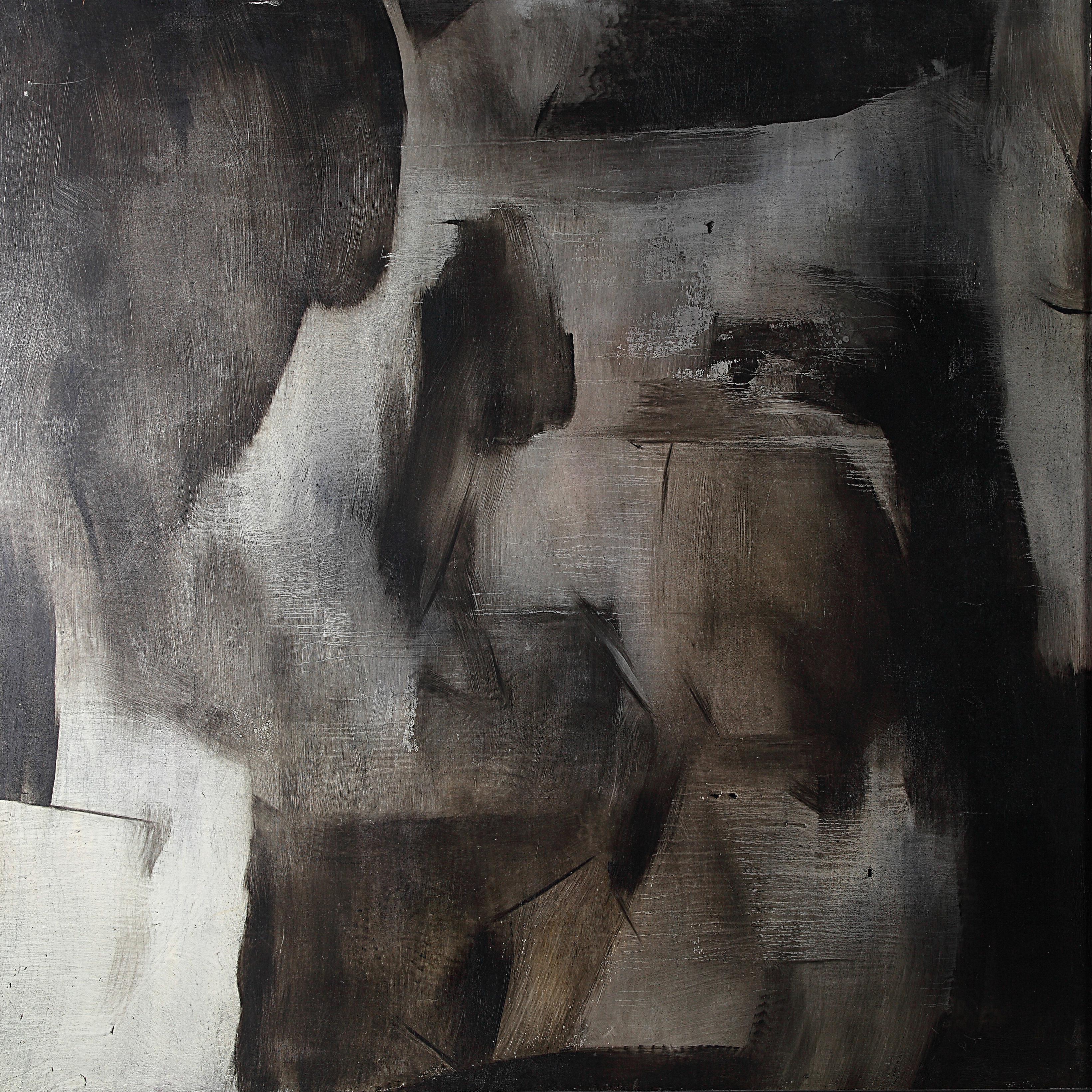 """김종석, 무언극""""La Pantomine"""", 유화 162 x 162cm.jpg"""